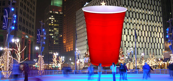 Detroit Prepares to Light Non-Offensive Red Holiday Cup Instead of Traditional Christmas Tree