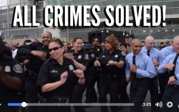 Detroit Police Solve All Crimes and Celebrate by Filming #RunningManChallenge Dance Video