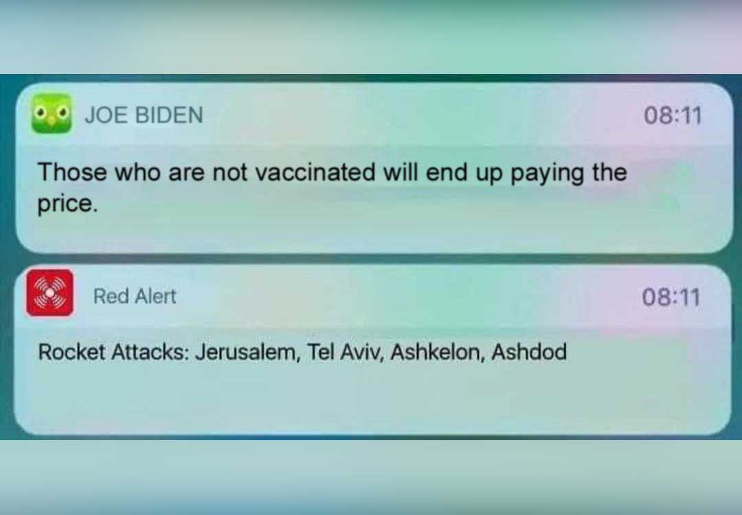 President Biden Threatens the Unvaccinated, Launches Missiles in Defiance