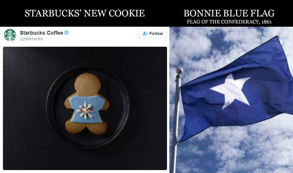 Starbucks Releases Cookie in Support of the Confederacy