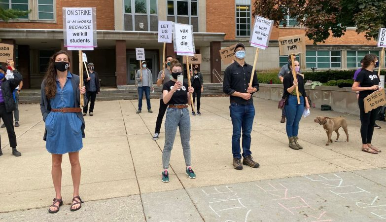 U of M instructors strike for right to kill students who don't vaccinate